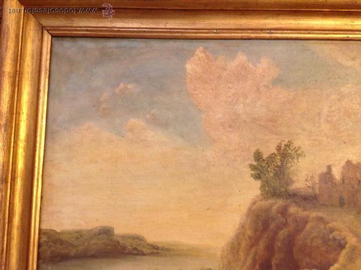 Arte: oleo sobre lienzo casa con camino - Foto 6 - 49773311