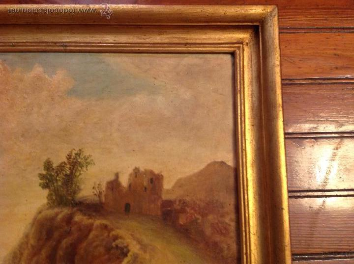 Arte: oleo sobre lienzo casa con camino - Foto 7 - 49773311