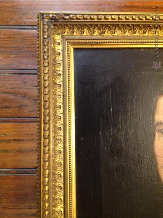 Arte: Oleo sobre lienzo retrato de caballero señor - Foto 8 - 49773405
