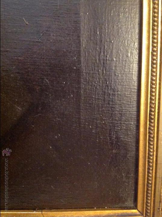 Arte: Oleo sobre lienzo retrato de caballero señor - Foto 6 - 49773673