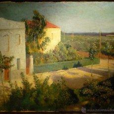 Arte: PAISAJE VALENCIANO POR FRANCESC CLIMENT MATA (1895-1964). Lote 49782887
