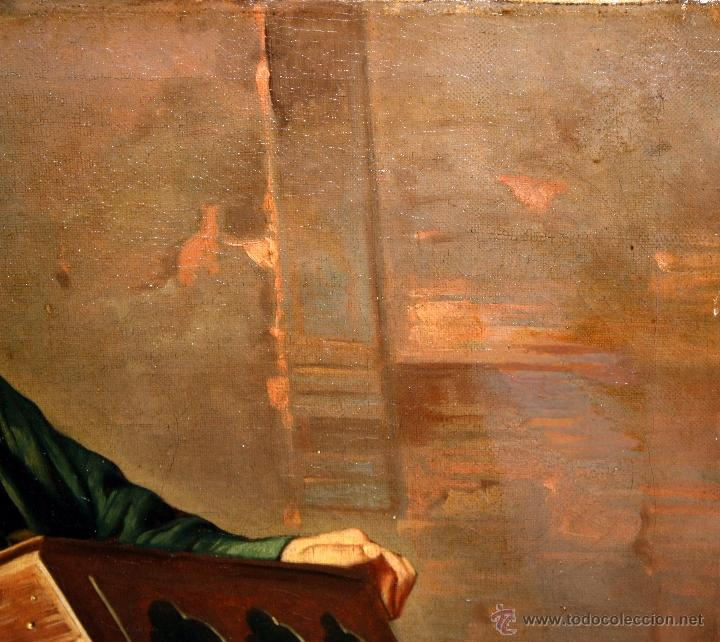 Arte: AD. WÜRTZ (Activo en el área germánica a finales del siglo XIX) OLEO LIENZO. MUSICO AMBULANTE - Foto 10 - 49860540
