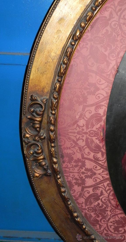 Arte: Pintura al oleo de Simón Bolívar, siglo XIX Venezuela, pintado al oleo sobre tabla, grandisimo con e - Foto 5 - 50045855