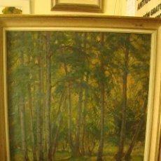 Kunst - pintura al oleo del siglo xix del pintor arnold hyndman bosque - 50182525
