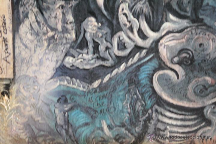 Arte: JUAN IZQUIERDO- APUNTE ESTUDIO LAS CARAS DE DALI - Foto 3 - 50200369