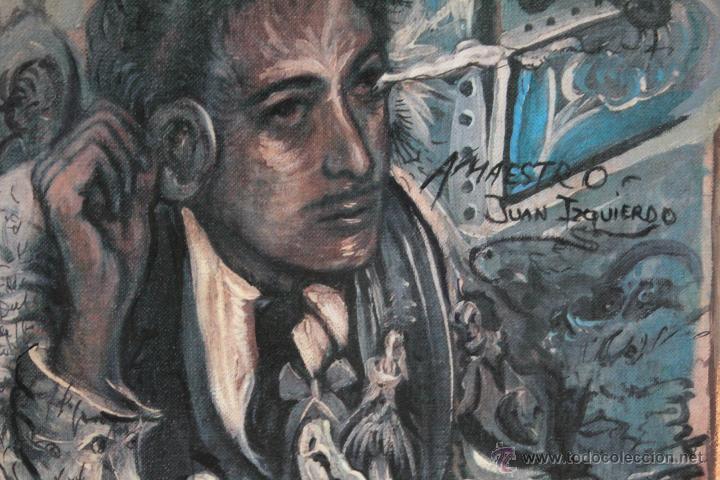 Arte: JUAN IZQUIERDO- APUNTE ESTUDIO LAS CARAS DE DALI - Foto 4 - 50200369