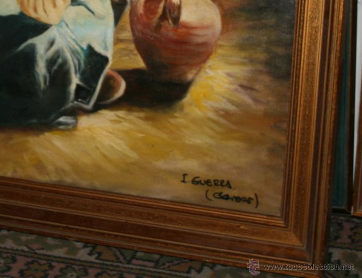 Arte: CUADRO DEL ARTISTA DE ALCALA DE HENARES Y COPISTA DEL MUSEO DEL PRADO ANTONIO CEREZO 12339 I. GUERRA - Foto 2 - 50241220