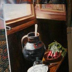 Arte - CUADRO DEL ARTISTA DE ALCALA DE HENARES Y COPISTA DEL MUSEO DEL PRADO ANTONIO CEREZO - I. GUERRA - 50279857
