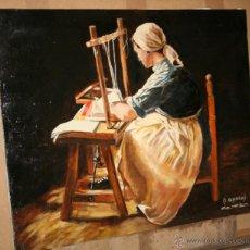 Arte: CUADRO DEL ARTISTA DE ALCALA DE HENARES Y COPISTA DEL MUSEO DEL PRADO ANTONIO CEREZO - I. GUERRA 5º. Lote 50283867
