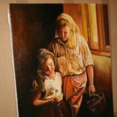 Arte: CUADRO DEL ARTISTA DE ALCALA DE HENARES Y COPISTA DEL MUSEO DEL PRADO ANTONIO CEREZO - I. GUERRA 7º. Lote 50284879
