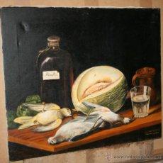 Arte: CUADRO DEL ARTISTA DE ALCALA DE HENARES Y COPISTA DEL MUSEO DEL PRADO ANTONIO CEREZO - JL. ENGUIDANO. Lote 50285094