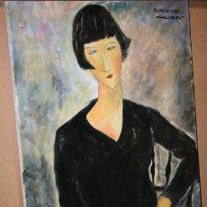 Arte - CUADRO DEL ARTISTA DE ALCALA DE HENARES Y COPISTA DEL MUSEO DEL PRADO ANTONIO CEREZO - MODIGLIANI 3º - 50285572