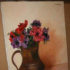 Arte: CUADRO DEL ARTISTA DE ALCALA DE HENARES Y COPISTA DEL MUSEO DEL PRADO ANTONIO CEREZO - 12429. Lote 50285580