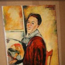 Arte - CUADRO DEL ARTISTA DE ALCALA DE HENARES Y COPISTA DEL MUSEO DEL PRADO ANTONIO CEREZO - MODIGLIANI 4º - 50288824