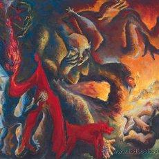 Arte: CHEMA COBO . GRAN ÓLEO SOBRE LIENZO FIRMADO 20TH CENTURY PAINTING SPAIN POST-WAR & CONTEMPORARY ART. Lote 50445417