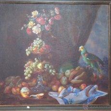 Arte: CUADRO ÓLEO LIENZO BODEGÓN FIRMADO FRANCISCO PRIETO 1932 CÁDIZ. (FRANCISCO PRIETO SANTOS).. Lote 28341097