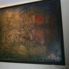 Arte: FRANCISCO PEINADO, PINTOR MALAGUEÑO, EL PAJAR. Lote 50555820