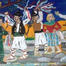 Arte: ALPUJARRA ,FIESTA DEL TROVO CON TRAJES ANTIGUOS DE CRESPO. Lote 50693714