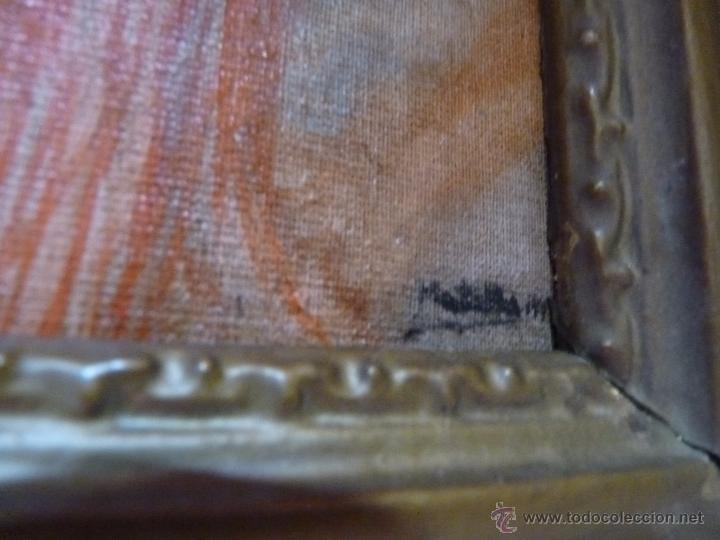 Arte: MARAVILLOSA PINTURA AL OLEO FINALES DEL SIGLO XIX GITANILLA COSTUMBRISTA - Foto 4 - 50703294