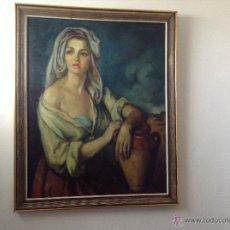 Arte: OLEO DEL PINTOR JUAN MIGUEL. Lote 50717610