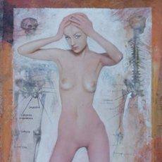 Arte: *JOSÉ MARÍA PRADES FIGUERAS* COLLAGE DE LA SERIE *ESTRONCIO 38* AÑO: OCT. 2007. MEDS. 35 X 25 CMS. Lote 50762628