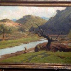 Arte: MANUEL RAMIREZ IBAÑEZ (1856-1925) - PINTOR ESPAÑOL - ÓLEO SOBRE CARTÓN.. Lote 50810177