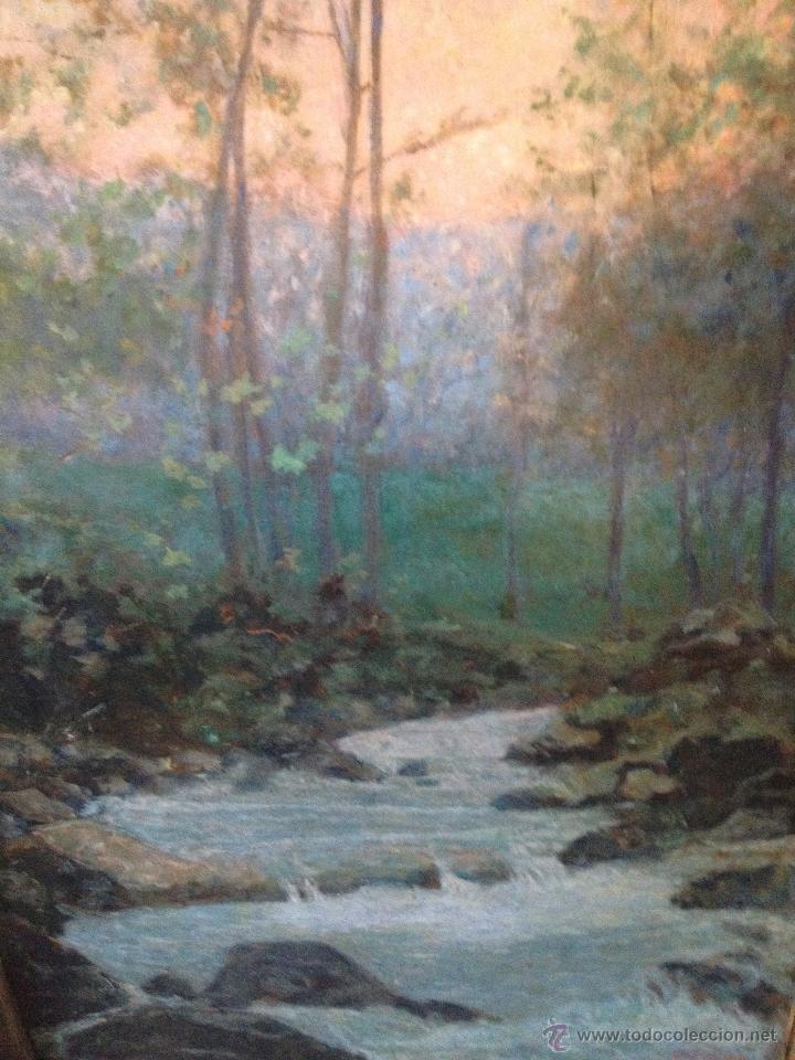 Arte: Francisco LLORENS DÍAZ (1874-1948) - Pintor Español - Óleo sobre cartón - Foto 3 - 50811422