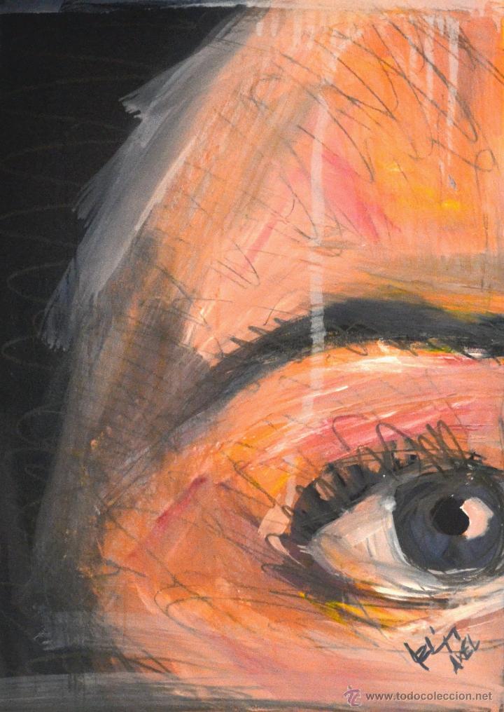 PINTURA AL ÓLEO S / CARTULINA( AXEL RODRÍGUEZ) 30 X 40 CM (Arte - Pintura Directa del Autor)