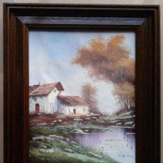 Arte: TOMÀS MARTINEZ SUNYOL (DIEULEFIT, 1.964) - MAGNIFICO OLEO/TELA ENMARCADO 39 X 32 - SUÑOL. Lote 50904377