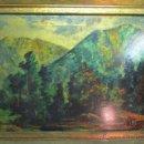 Arte: PAISAJE PINTADO EN TABLA FIRMADO,DEL ESCULTOR CATALA JAIME PERELLÓ, AÑO 1980 (VER FOTOS). Lote 50988144