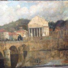 Arte: GIACOMO GROSSO (1860-1938) - PINTOR ITALIANO - ÓLEO SOBRE TELA.. Lote 51002606