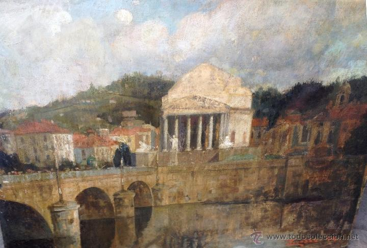 Arte: Giacomo GROSSO (1860-1938) - Pintor italiano - Óleo sobre tela. - Foto 2 - 51002606