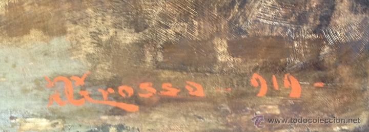 Arte: Giacomo GROSSO (1860-1938) - Pintor italiano - Óleo sobre tela. - Foto 5 - 51002606