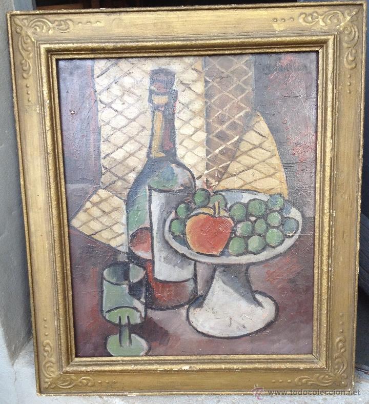 RAFAEL PEREZ BARRADAS (1890-1929) (ATRIBUIDO) - PINTOR URUGUAYO-ESPAÑOL - ÓLEO SOBRE HARDBOARD (Arte - Pintura - Pintura al Óleo Moderna sin fecha definida)