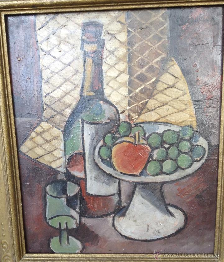 Arte: Rafael PEREZ BARRADAS (1890-1929) (Atribuido) - Pintor Uruguayo-Español - Óleo sobre hardboard - Foto 2 - 51065193