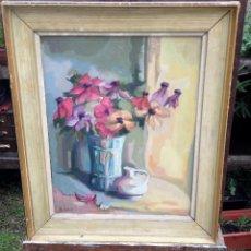 Arte: NINO BERTOLETTI (1889-1971) - PINTOR ITALIANO - ÓLEO SOBRE TELA. Lote 51067670