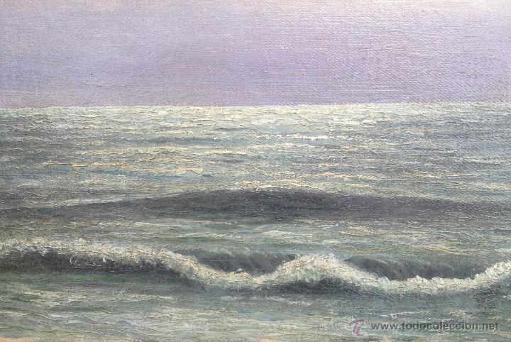 Arte: Guillermo GOMEZ GIL (1862-1942) Pintor Español - Óleo sobre tela. - Foto 2 - 51067694