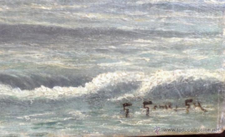 Arte: Guillermo GOMEZ GIL (1862-1942) Pintor Español - Óleo sobre tela. - Foto 3 - 51067694