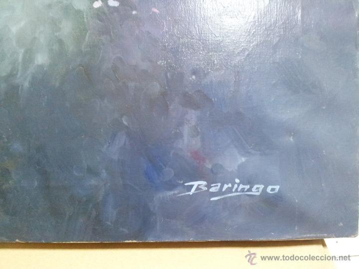 Arte: OLEO LIENZO DE ANTONI BARINGO ...TARRAGONA..TITULADO...EL SOMNI DE UNA NUVIA..AÑOS 90 - Foto 10 - 51322174