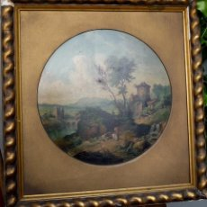 Arte: BOSSO FRANCESCO (1864-1933) - PINTOR ITALIANO - ÓLEO SOBRE CARTÓN. Lote 51323126
