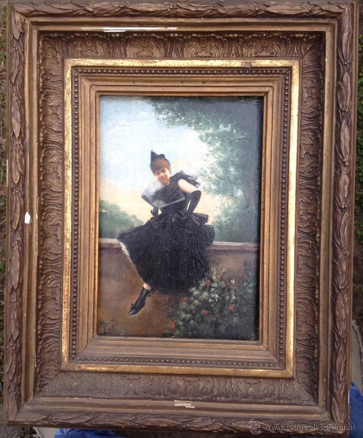 Arte: Manuel PICOLO LOPEZ (1855-1912) Pintor Español - Par de Óleos sobre madera - Foto 2 - 51323686