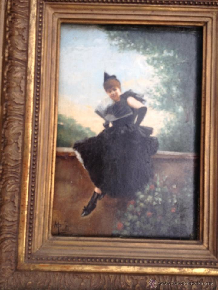 Arte: Manuel PICOLO LOPEZ (1855-1912) Pintor Español - Par de Óleos sobre madera - Foto 3 - 51323686