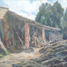 Arte: JAUME MERCADÉ VERGÉS. PINTOR NACIDO EN SABADELL EN 1922, CAN VIYALS 1975. Lote 51356682