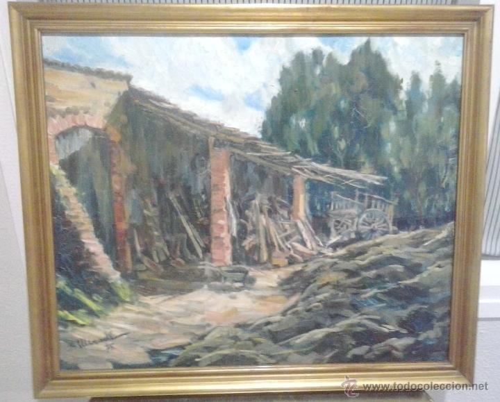 Arte: Jaume Mercadé Vergés. Pintor nacido en Sabadell en 1922, Can Viyals 1975 - Foto 2 - 51356682