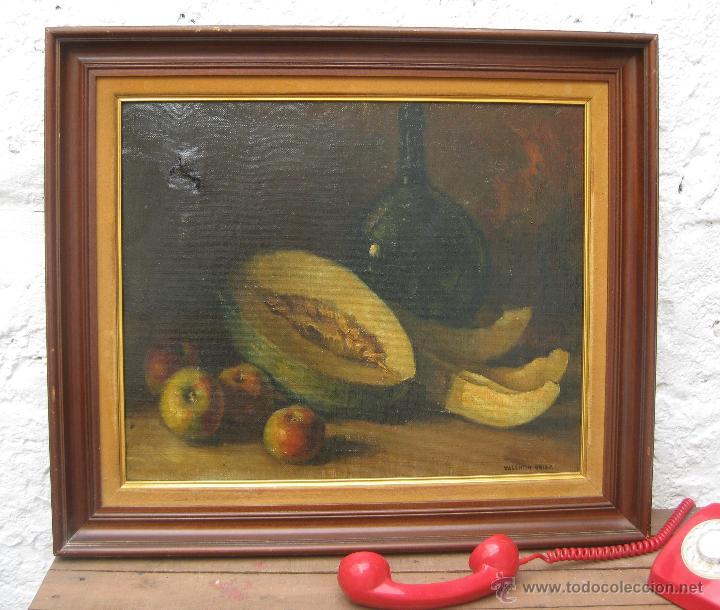 Precioso gran oleo pintor valenciano a os 30 40 comprar - Pintor valenciano ...