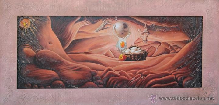 EL COMIENZO- JUAN IZQUIERDO (Arte - Pintura - Pintura al Óleo Contemporánea )