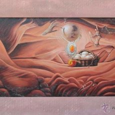 Arte: EL COMIENZO- JUAN IZQUIERDO. Lote 51520143