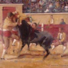 Arte: FORÇADOS PORTUGUESES.OLEO SOBRE LIENZO EN BASTIDOR. Lote 51612754