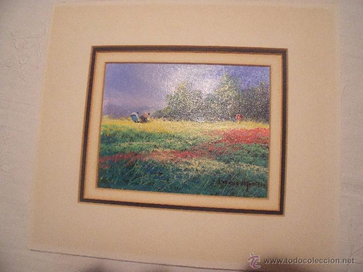 Arte: DOS OLEOS DE FRANCISCO LOZANO MORILLO CON PASPARTUT - Foto 5 - 51655764