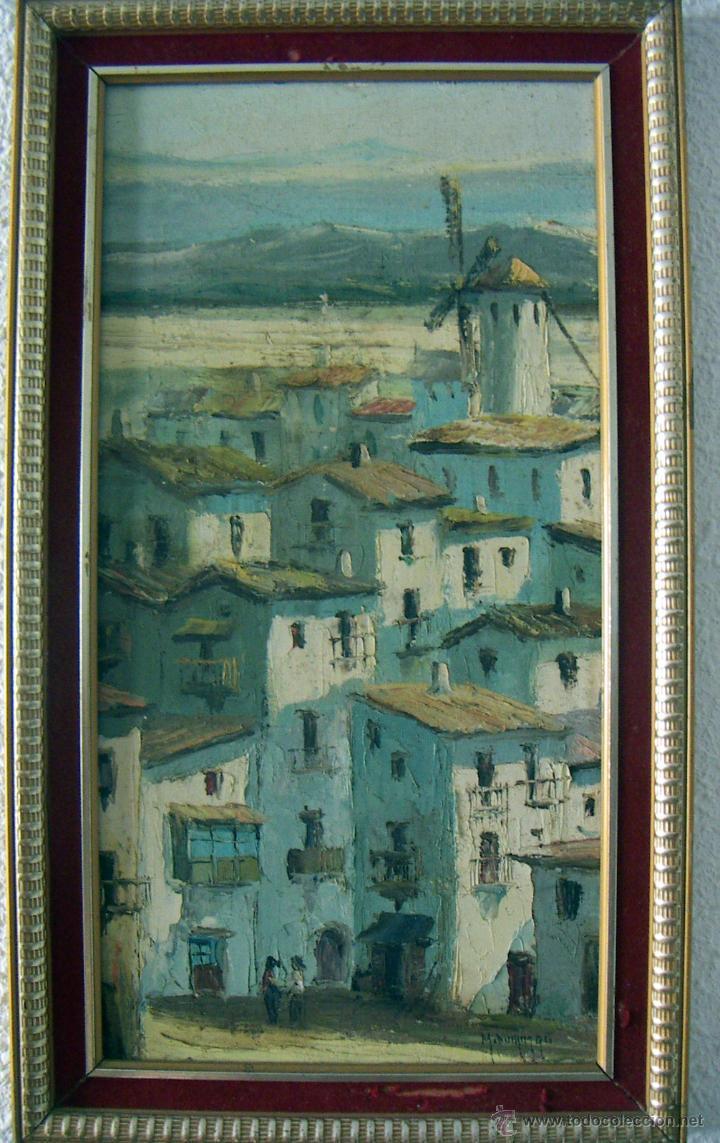 PINTURA AL OLEO FIRMADA M.DOMINGO (Arte - Pintura - Pintura al Óleo Contemporánea )